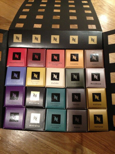 20 40 60 ... 100 160 200 Nespresso Coffee Capsules MIX Grands Crus Blends Choice in Home & Garden, Food & Beverages, Coffee | eBay