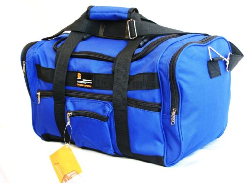 "20"" 40LB. CAPACITY ROYAL BLUE DUFFLE BAG/ GYM BAG / LUGGAGE / SUITCASE CSBLU20 in Travel, Luggage 