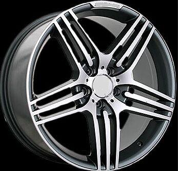 """20"""" AMG Style Wheels Mercedes R350 ML350 500 GL450 550 Rims Amsg Style 20"""""""