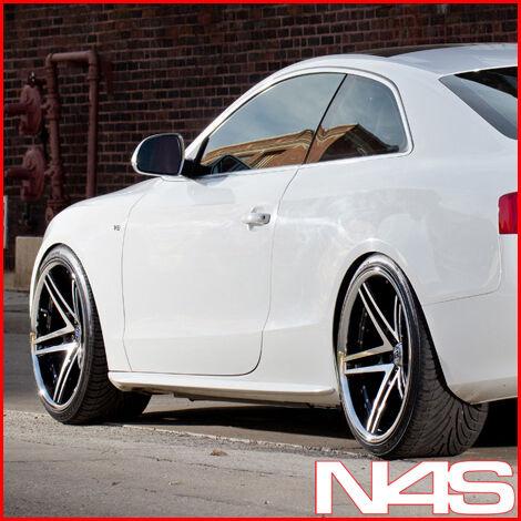 20 Audi B8 A5 Rohana RC5 Black Concave Wheels Rims 20x10 5