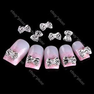 Zebra Print Acrylic Nail Tips 30