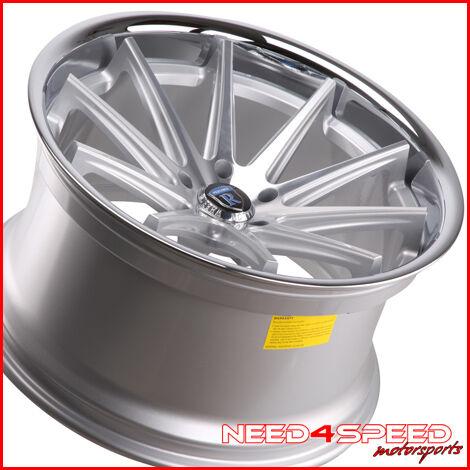 525 528 530 540 5 Series Rohana RC10 Concave Silver Wheels Rims