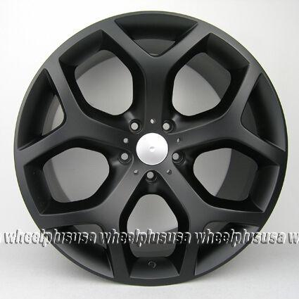 X5 E53 E70 X6 XDrive 214 Style Y Spoke Staggered Wheels Rims 1999 2012