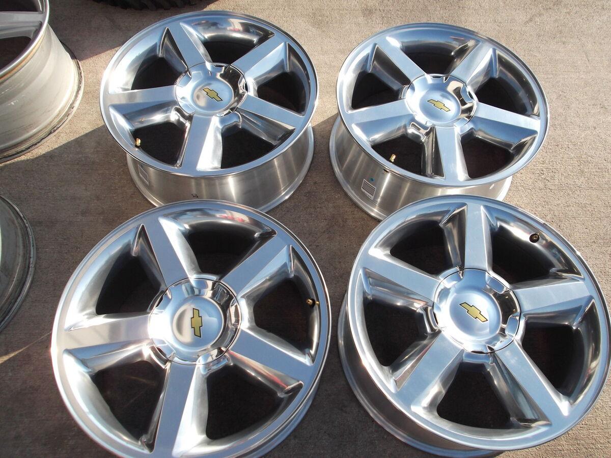 20 Chevy Silverado Wheels Rims Tahoe Suburban GMC Sierra Yukon Denali
