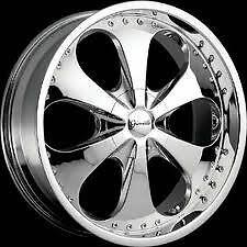 "20"" Chrome Gianelle Wheels Rims 5x115 5 Lug Dodge Charger Magnum Chrysler 300"