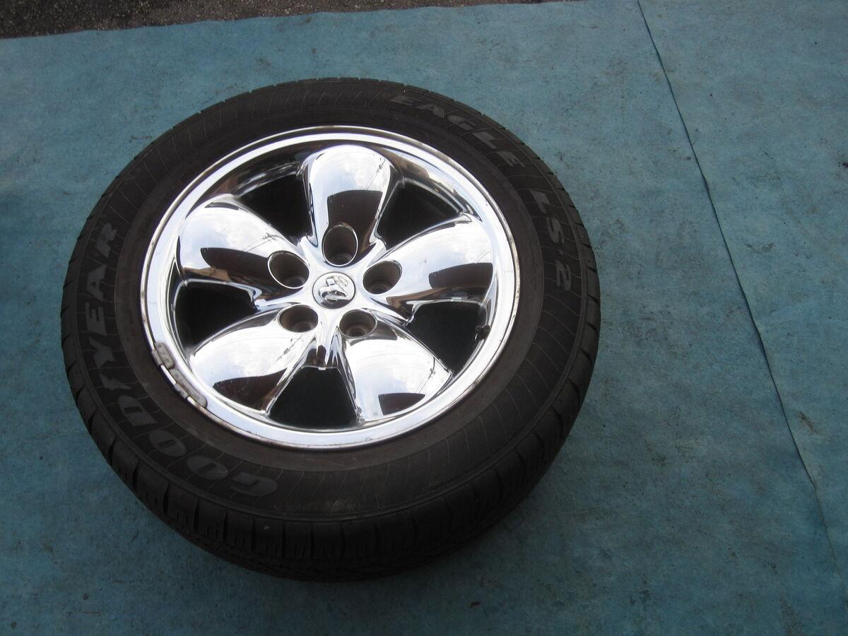 20 Dodge RAM Wheel Rim Tire Spare 275 55 20 Goodyear