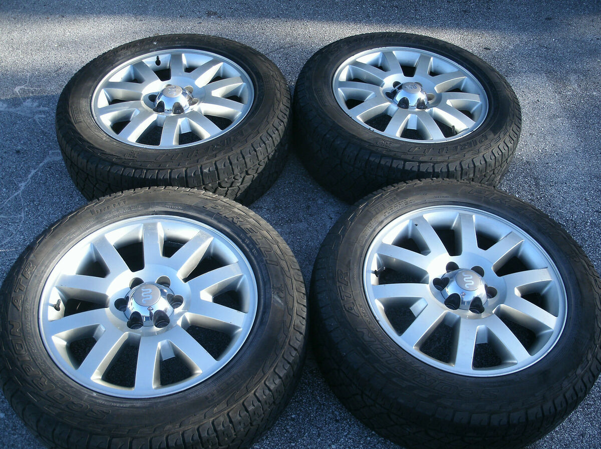Ford Expedition F150 King Ranch Factory Wheels Pirelli Tires