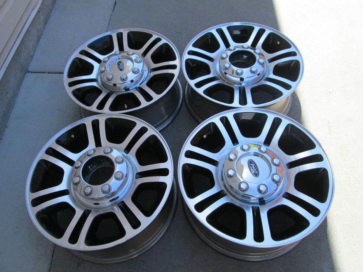 "20"" Ford F250 F350 Factory Super Duty Platinum Black Factory Wheels Rims 2013"