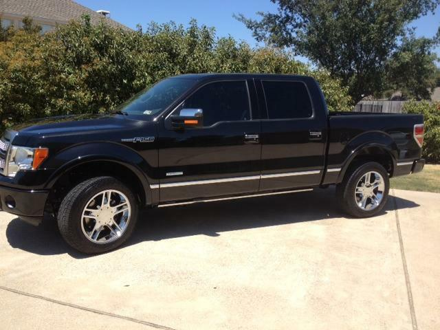 """20"""" Ford F150 Harley Expedition Tires Wheels Rims Chrome Set Package"""