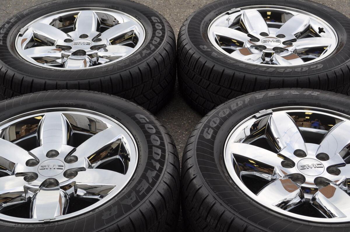 """20"""" GMC Sierra Denali 1500 Truck Chrome Wheels Rims Tires 5420"""