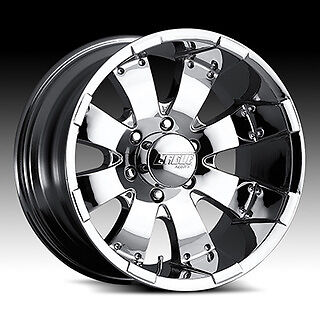 20 inch American Eagle 064 Chrome Wheels 20x10 Chevy GMC Dodge RAM 2500 HD Rims