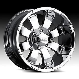 20 inch American Eagle 064 Chrome Wheels 20x10 Chevy GMC Dodge RAM 2500 HD Rims