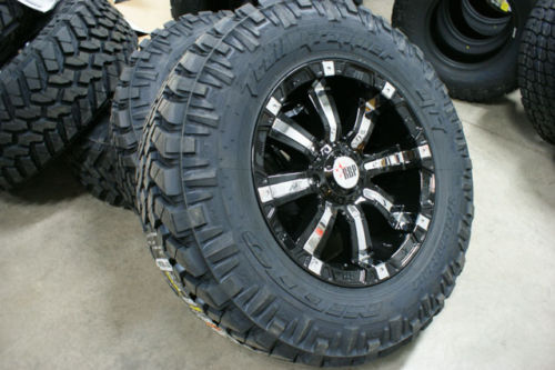 20 inch Black 94 RBP Chevy GMC 1500 Rims Wheels 6x5 5