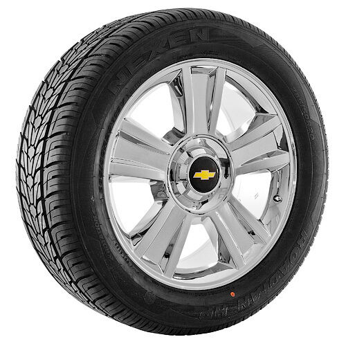 "20"" inch Chrome Chevy Silverado Suburban Tahoe Avalanche Wheels Rims and Tires"