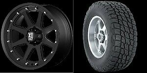 20 inch Wheels Rims Tires Black Chevy GMC Tahoe Yukon