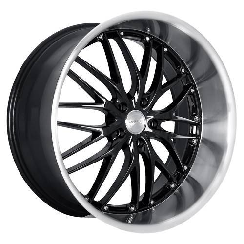 20 MRR GT1 Black Rims Wheels Lexus GS300 GS400 IS250 RX8 Mustang GT