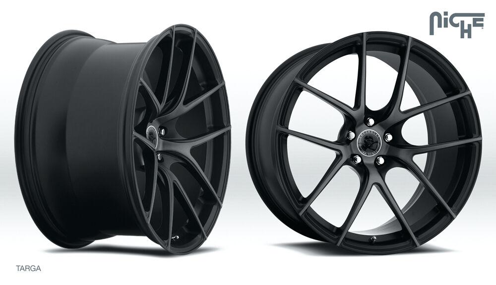 """20"""" Niche Targa Rims Wheels BMW Mercedes Lexus Toyota Audi VW"""