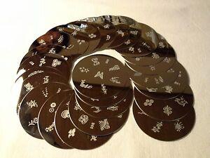 20-Nail-Art-Schablonen-Plates-Stamping-Set-Nageldesign-Schablone-Plate-Nailart