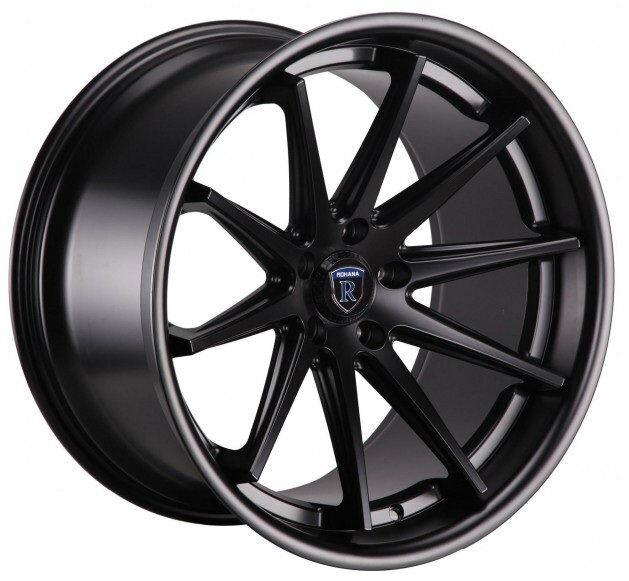20 Rohana RC10 20x9 20x11 28 5x120 Black BMW M3 M5 M6 Camaro SS
