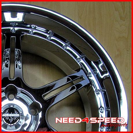 20 Stern St 2 20x9 5 Chrome 5x120 BMW M5 M6 Wheel Rim