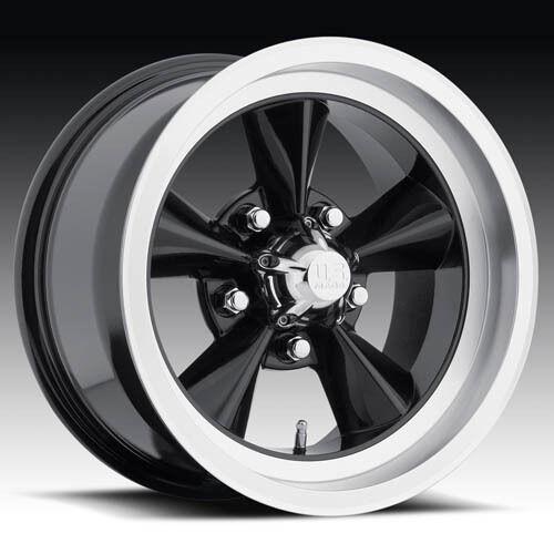 Wheel Set FOOSE Style Rims Black 20 Wheels Torque Thrust