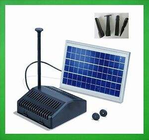 20 watt solarpumpe solar gartenteichpumpe filter. Black Bedroom Furniture Sets. Home Design Ideas