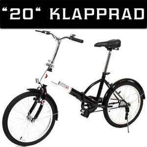 20 zoll klappfahrrad klapprad faltfahrrad faltrad klapp. Black Bedroom Furniture Sets. Home Design Ideas