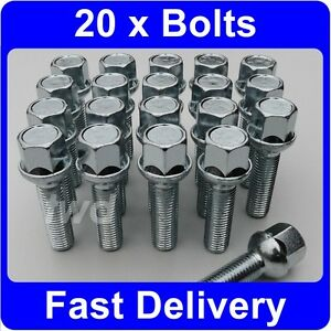 20 x alloy wheel bolts for mercedes benz c class w202 Mercedes benz wheel nuts