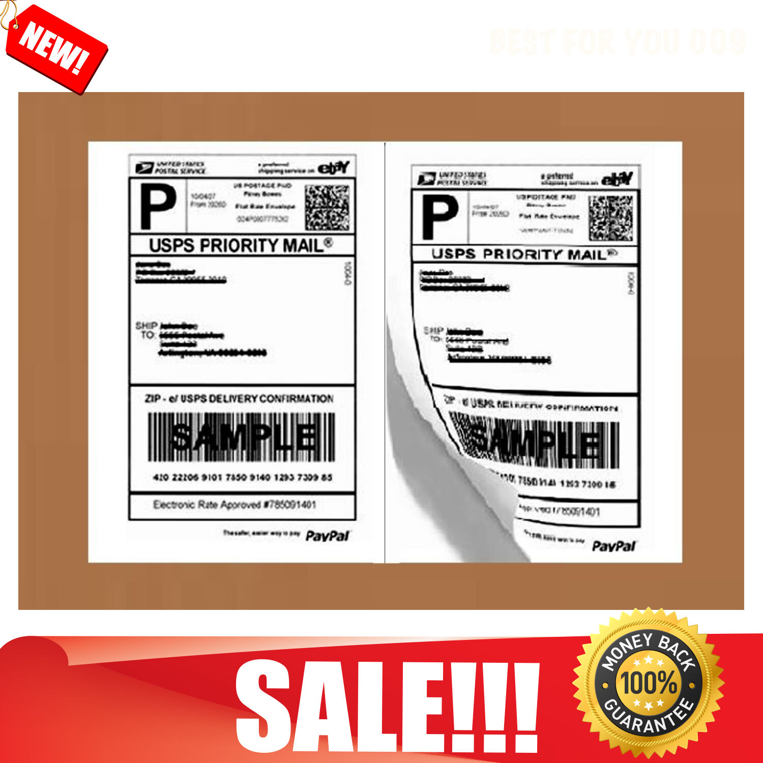 Shipping Labels Stickers Self Adhesive Ebay Business
