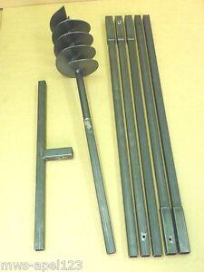 200-mm-Erdbohrer-Saetze-Erdlochbohrer-pfahlbohrer-Brunnenbohrgeraet-Erdbohrgeraet