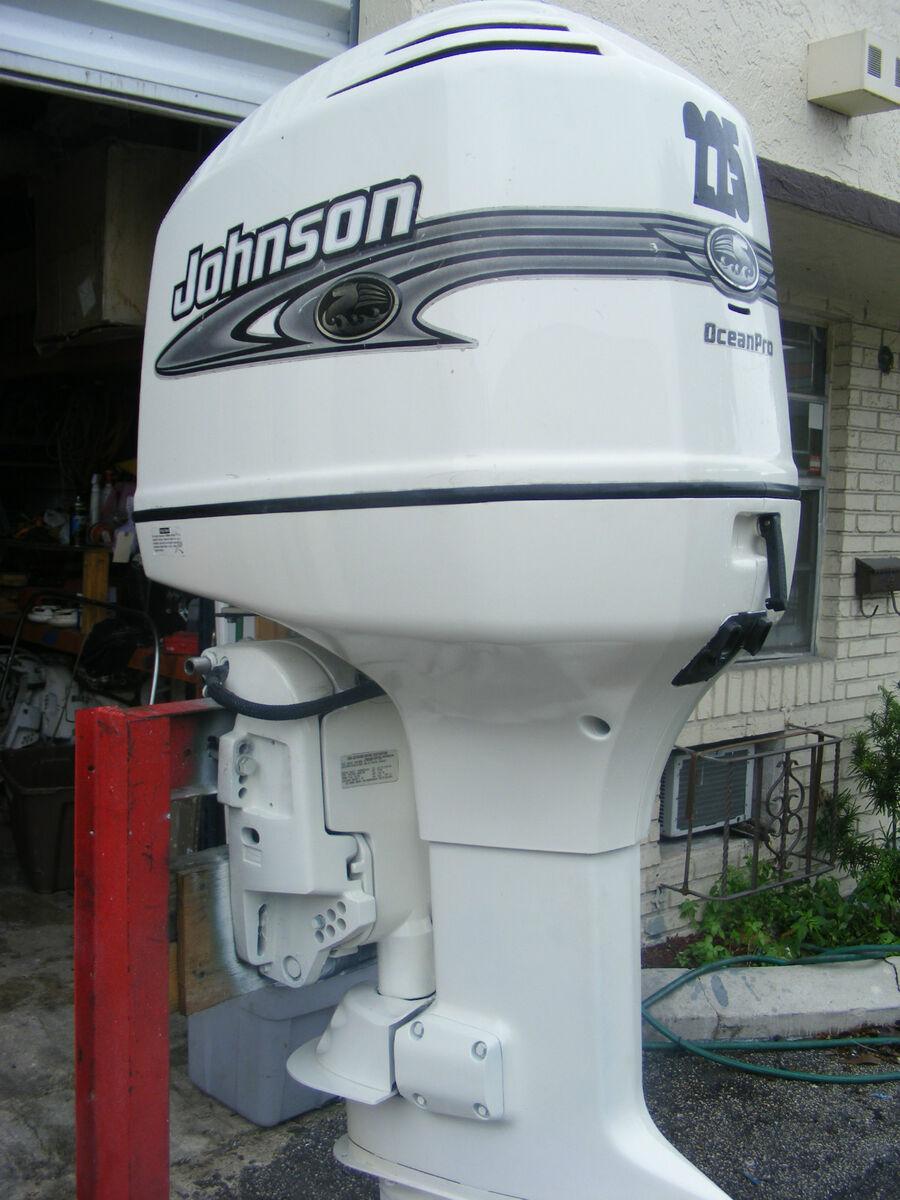 2001 Johnson 225 HP Outboard Motor Engine 25 Rebuild