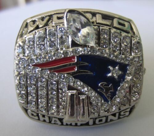 2001 New England patriots Super Bowl Ring Championship NFL Ring Brady 11 Size in Sports Mem, Cards & Fan Shop, Fan Apparel & Souvenirs, Football-NFL | eBay