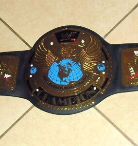 2001 WORLD WRESTLING FEDERATION *WF* CHAMPIONSHIP BELT MINT CONDITION