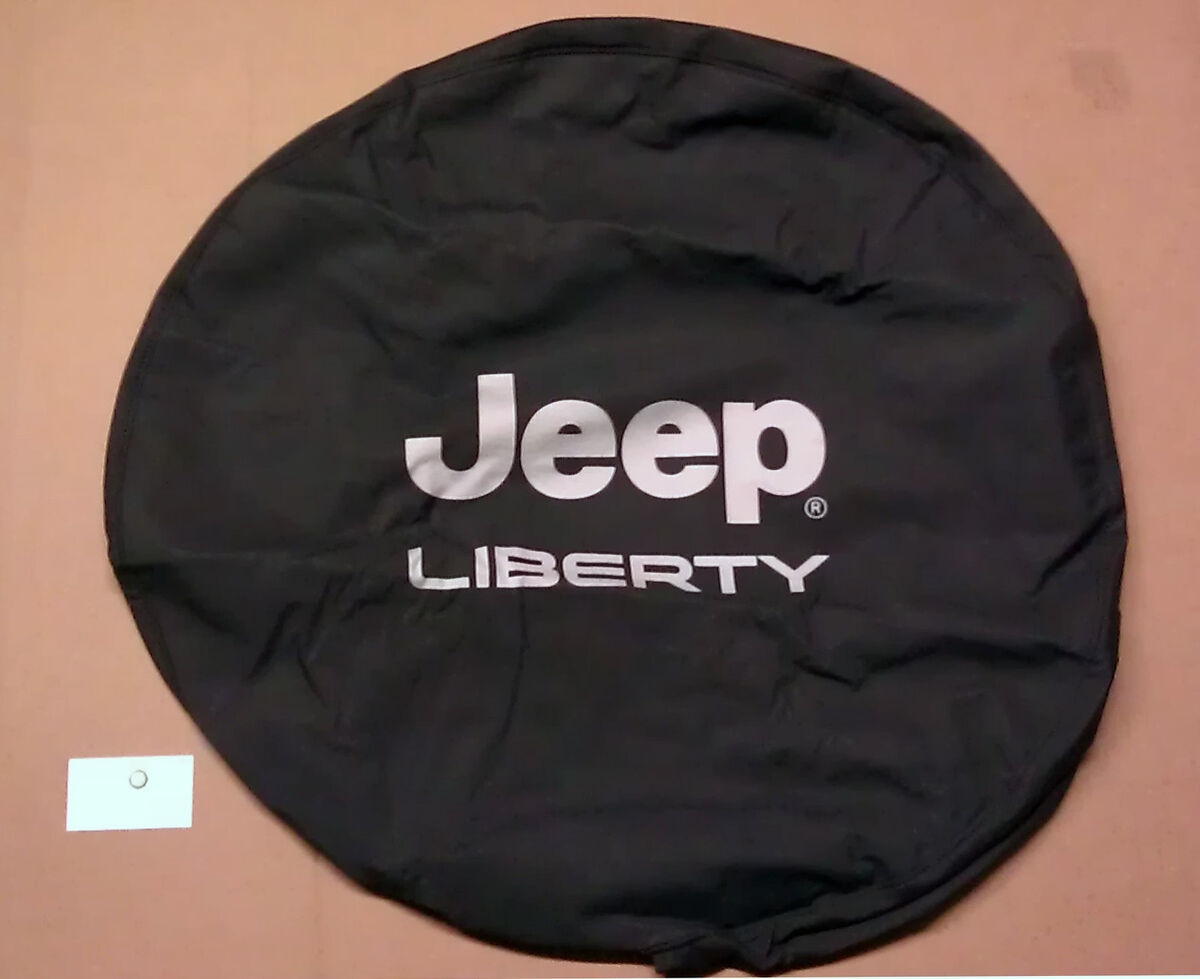 2002 2007 Mopar Jeep Liberty Spare Tire Cover 82207586AC Sport Limited