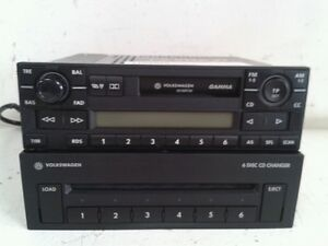2002 volkswagen passat radio stereo head unit cd changer 6 disc vw golf polo ebay. Black Bedroom Furniture Sets. Home Design Ideas