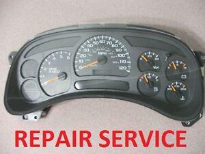 2004 Chevy Silverado Speedometer Recall