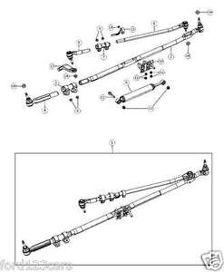 Steering Drag Link Diagram