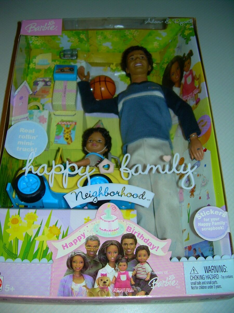 2003 AA Alan Ryan Happy Family Birthday Pregnant Midge Husband Barbie