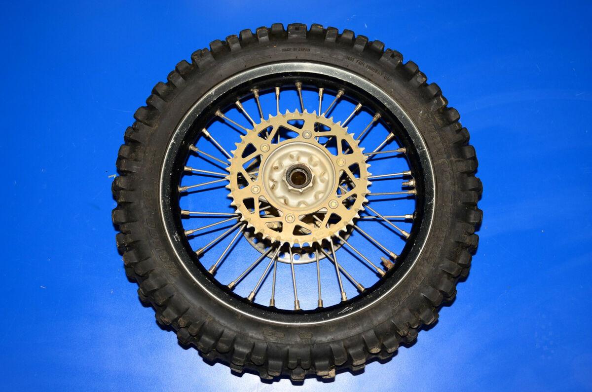 CRF450R CRF CR 450 250 rear wheel tire rim hub EXCEL bearing spokes 18