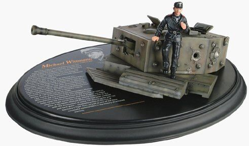 Dragon Action 18 1/18 Scale WWII German Michael Wittmann Tiger Ace Historical Diorama 18001