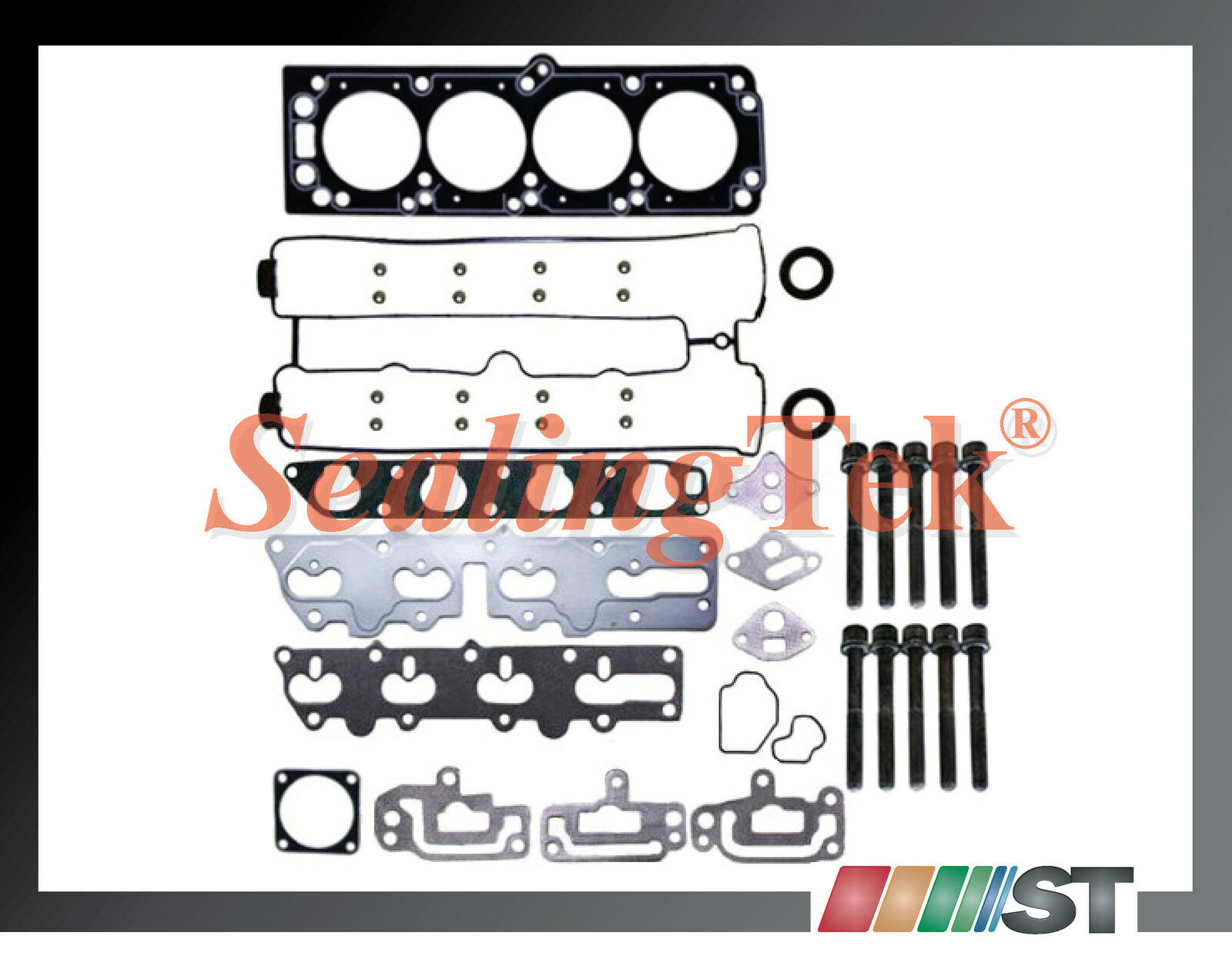AUTOMUTO Engine Head Gasket Set Bolts Kit for Chevrolet Optra LS