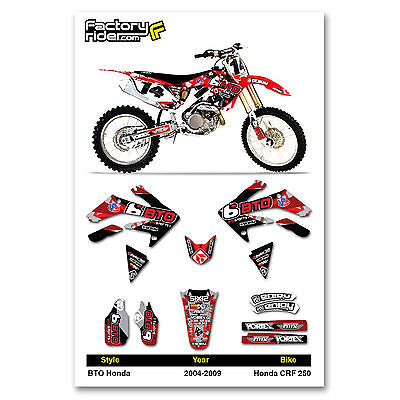 Honda Crf250r Graphic Kits 2004 2013 | Car Interior Design
