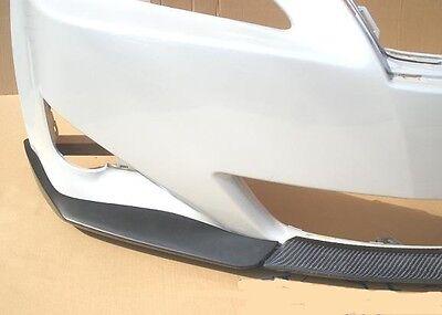 2005 2006 2007 lexus is250 is350 front 3p lip bumper spoiler carbon unpainted. Black Bedroom Furniture Sets. Home Design Ideas
