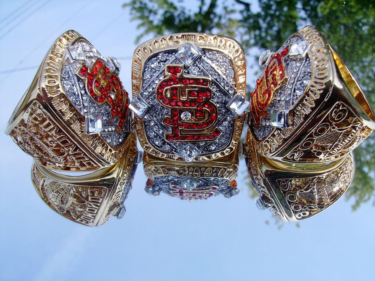 St Louis Cardinals World Series Championship Ring Edmonds not 2011 18K