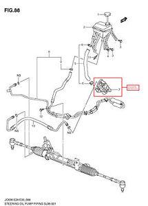 Suzuki Sx Power Steering Pump