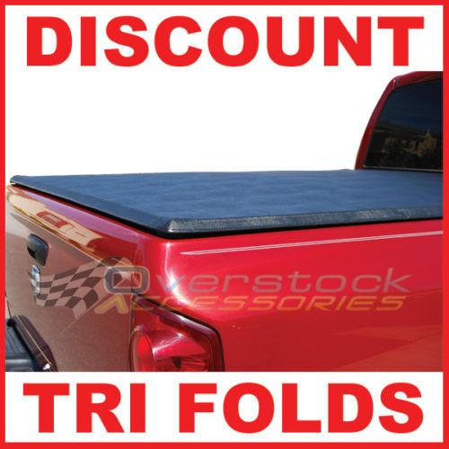 2007 2012 Chevy Silverado GMC Sierra 6 5ft s B Tri Fold Tonneau Cover Truck Bed