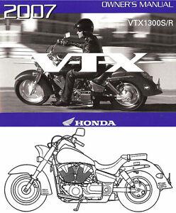 Honda Vtx1300s Manual