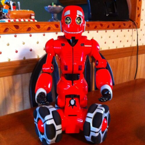 2007 Talking Wowwee 15 Inch Robotics RS Tribot Red Interactive Robot RC. in Toys & Hobbies, Robots, Monsters & Space Toys, Robots | eBay