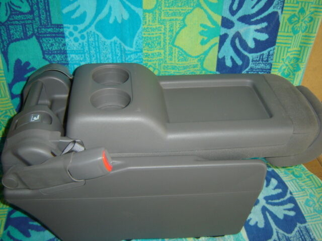 2008 2010 Honda Odyssey Center Console Seat Plus One Seat Gray Cloth