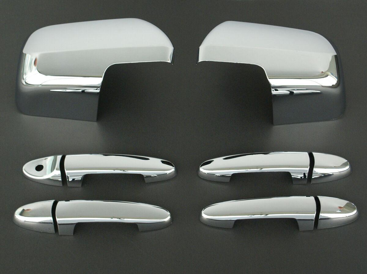 2008 2011 Mazda Tribute Chrome Door Handle Mirror Cover